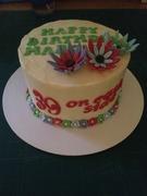 78th Birthday Cake