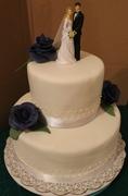 Elegant, Simple Wedding Cake