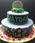 TMNT Cake (2)