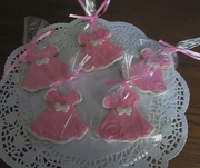 Little pretty dress cookies