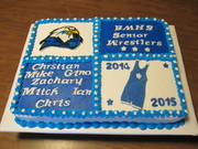 High School Wrestling Cake