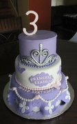 Princess Izabella Birthday cake