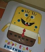 sponge pob cake