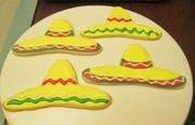 Cinco De Mayo Sombrero cookies