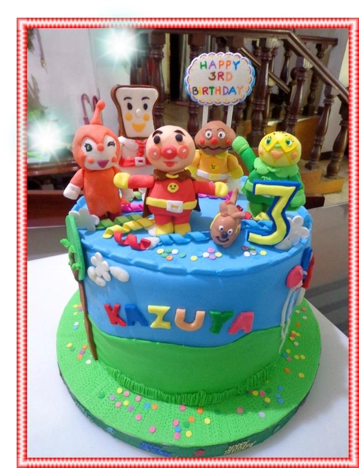 Anpanman Birthday Cake