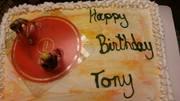 tony's birthday cake 2015