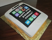Cell Phone Birthday Cake