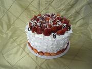 Whip-cream cake