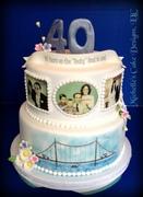 Anniversary Cake Rocky Road