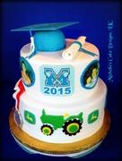 graduation cake 2015