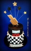 chevy cup winner cake