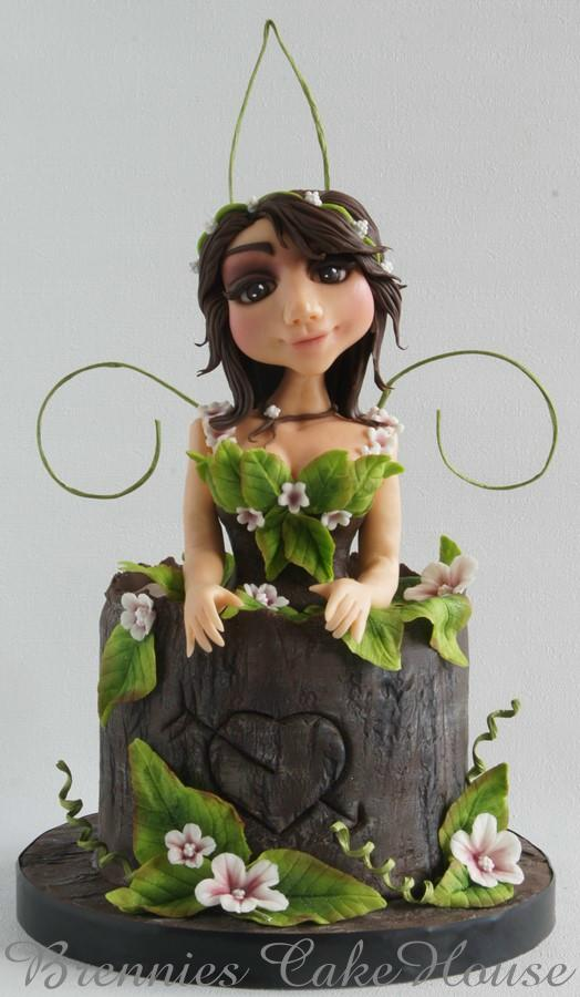 just a little fairy in the forest