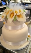 Calli Lily Weeding Cake