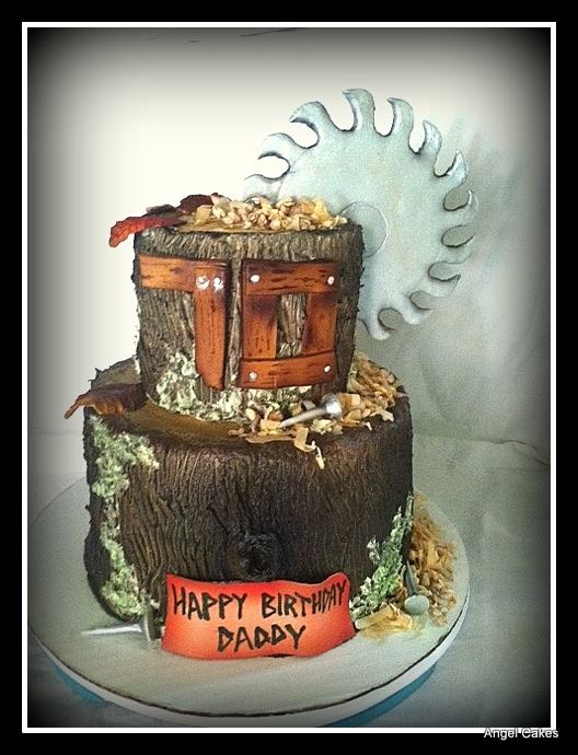Birthday Cake for Saw Mill Owner