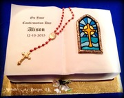 Christening Book Cake I