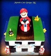 Super Mario Cart Cake