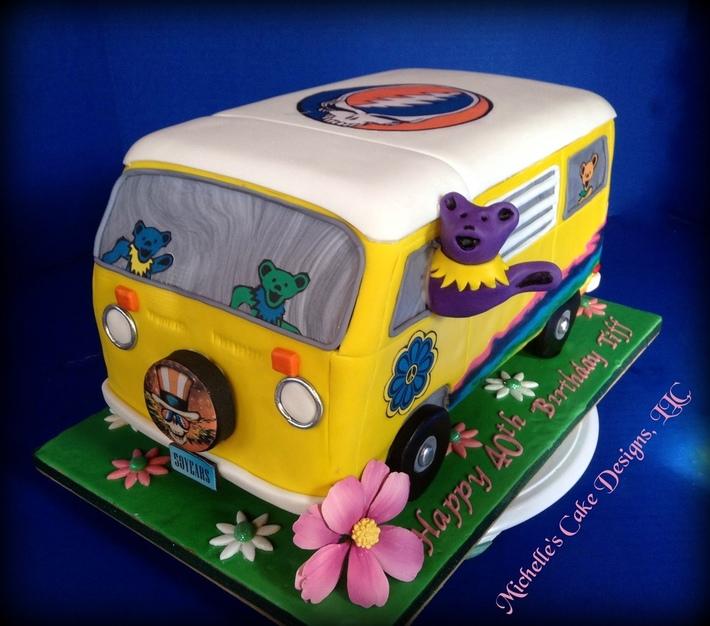 Grateful Dead Van Cake