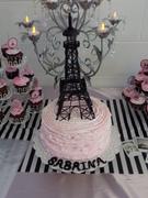 Paris cake and cupcakes!