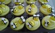 Bees´ cupcakes