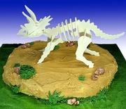 """Jurassic Parked"" Cake"
