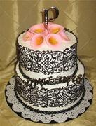 My First Sugar Veil Cake