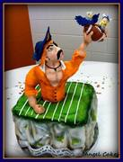 College Signing Day Cake