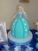 Princess Elsa Birthday Cake