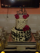 40 & Fabulous Birthday Cake