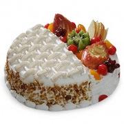Natures Display Cake