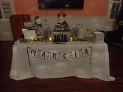 40th Birthday Dessert Table
