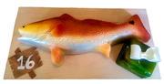 Redfish 16th Birthday cake
