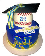 Newberry High Grad cake