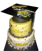 Buchholz Grad cake