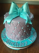 Quited Pattern Cake