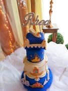 Cinderalla Story Cake
