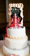 The Golden Diva Cake