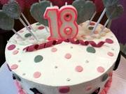 Debutant's Girly Cake