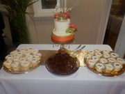 24th Wedding Anniversary Dessert Table