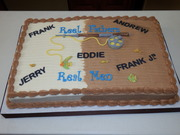 FIshing Theme Fathers Day Cake