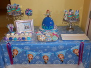Frozen Dessert Table - Representing Princess Anna