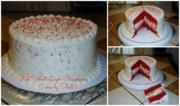 Red Velvet Layer Cheesecake