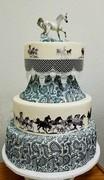 Wild Horse cake using Flexfrost
