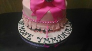 Birthday cake with crown