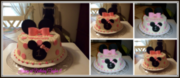 Happy 1st Birthday Taylor { Minnie Mouse }