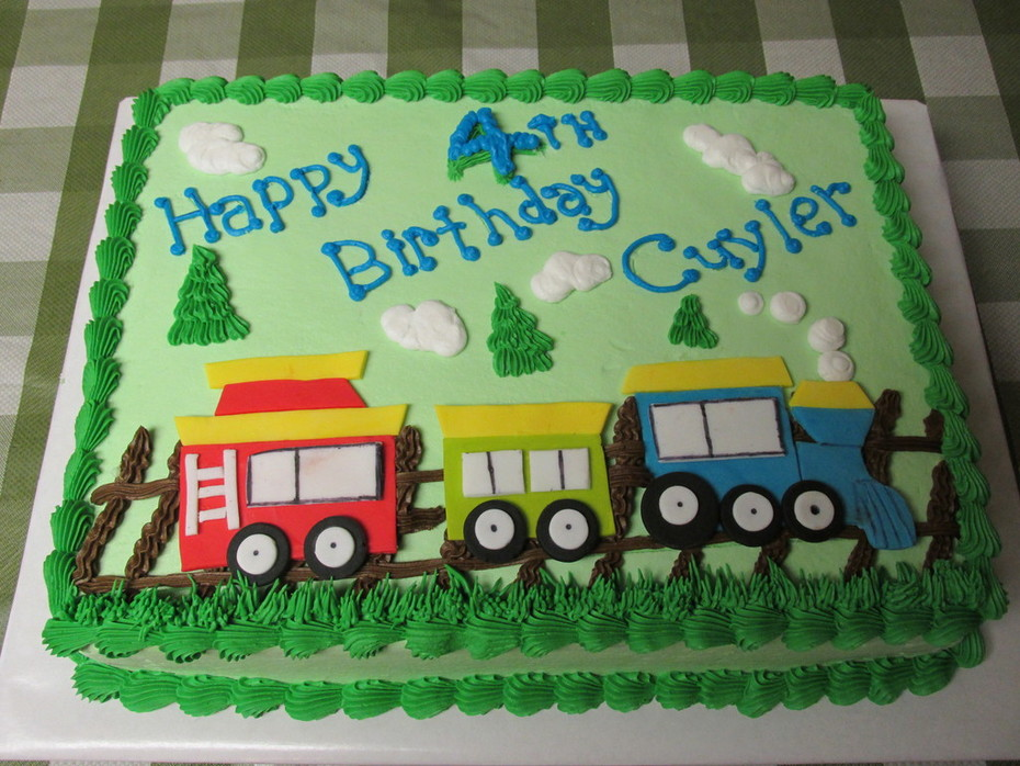 Admirable Choo Choo Train Cake Cake Decorating Community Cakes We Bake Personalised Birthday Cards Veneteletsinfo