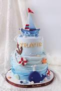 Phoenix Sweets - Ocean Theme Fondant Cake