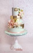 Phoenix Sweets - Two Tiers Wedding Cake
