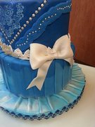 Gown inspired cake