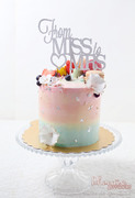 Phoenix Sweets - Cotton Candy Butter Cream Cake
