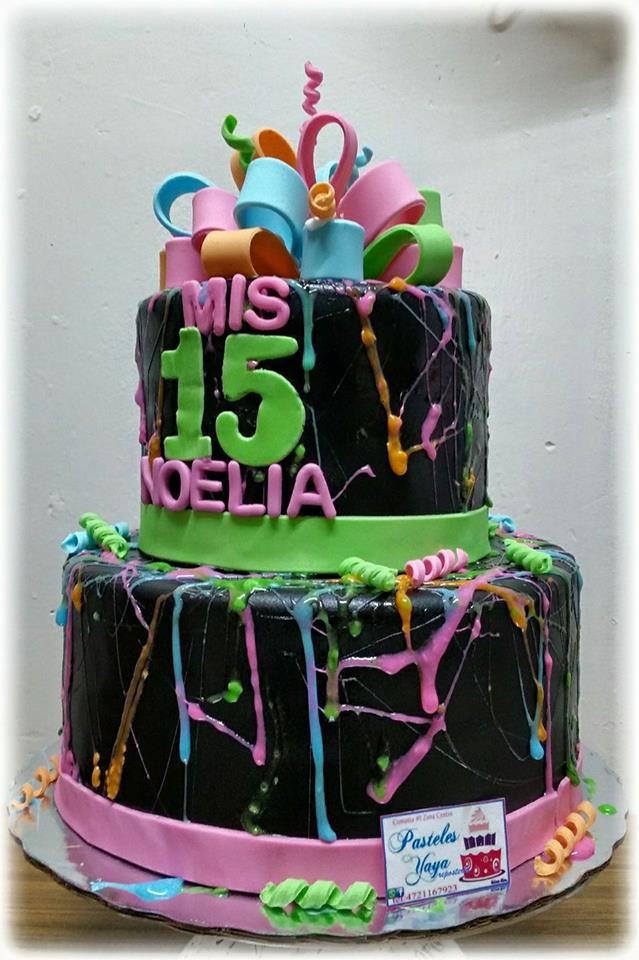 Stupendous 15Th Birthday Cake Cake Decorating Community Cakes We Bake Birthday Cards Printable Riciscafe Filternl